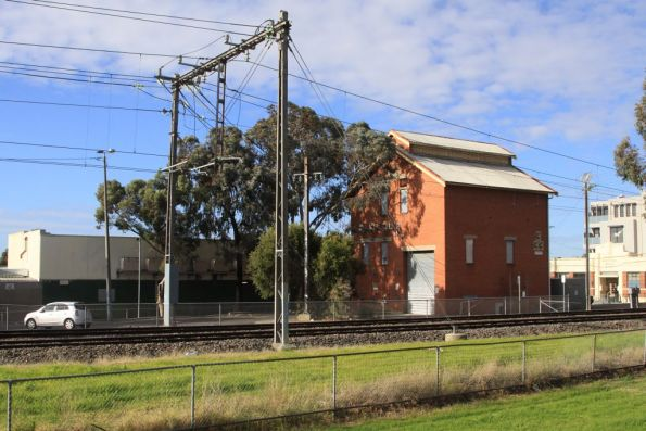 Coburg substation: 1,500 KW capacity commissioned in 1965