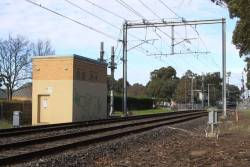 Fawkner tie station: connections to the 1500 V DC overhead