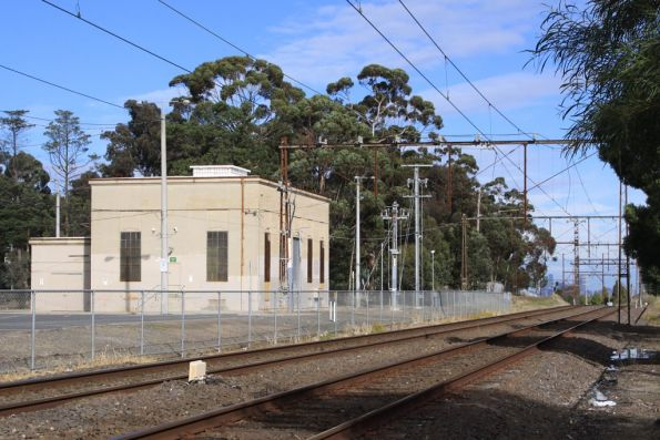 Reservoir substation: 1,500 kW capacity commissioned in 1963