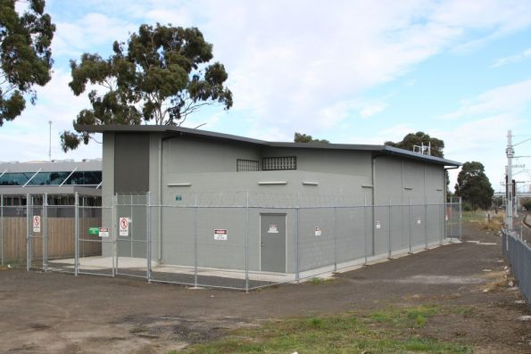 Thomastown substation: commissioned in 2011 as part of the South Morang Rail Extension Project