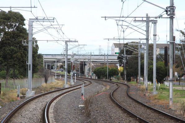 Thomastown substation: new-style traction feeds