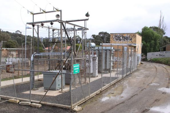 Eltham substation, commissioned in 1958 with 1,000 kW capacity