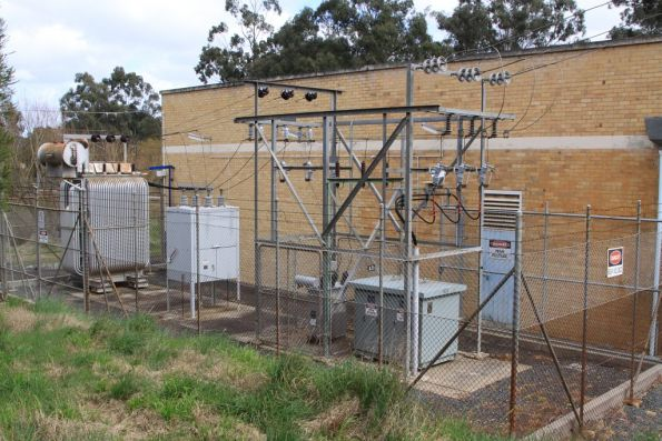 Wattle Glen substation, signalling and auxiliary transformers