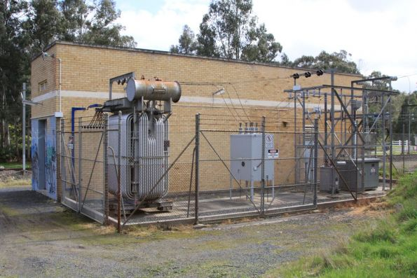 Wattle Glen substation, switchyard and main transformer