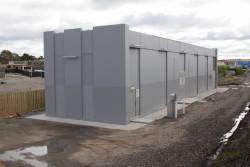 Sunbury substation, commissioned in 2012 with the electrification project
