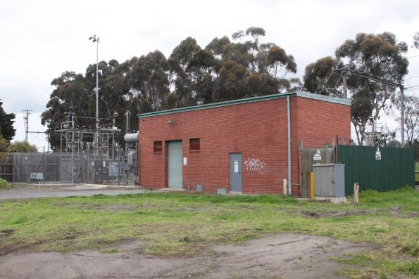 Royal Park substation, commissioned in 1964 with 1,500 kW capacity