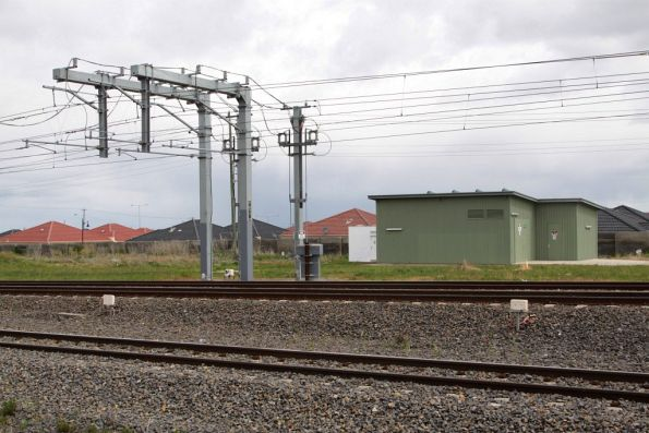 Coolaroo substation, commissioned in 2007 along with electrification to Craigieburn
