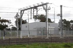 Craigieburn substation, feeders to the mainline plus some siding roads