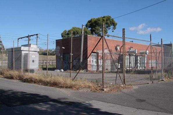 Victoria Park substation, commissioned in 1964 with 3,000 kW capacity