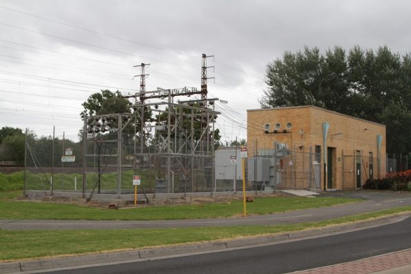 Bentleigh substation, commissioned in 1957 with 1,500 kW capacity