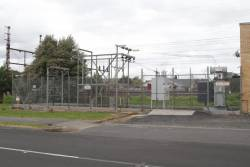 Bentleigh substation, modernised switchgear and main transformer
