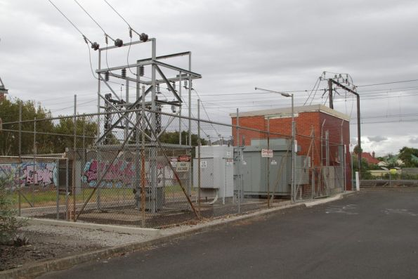 Middle Brighton substation, commissioned in 1969 with 1,500 kW capacity