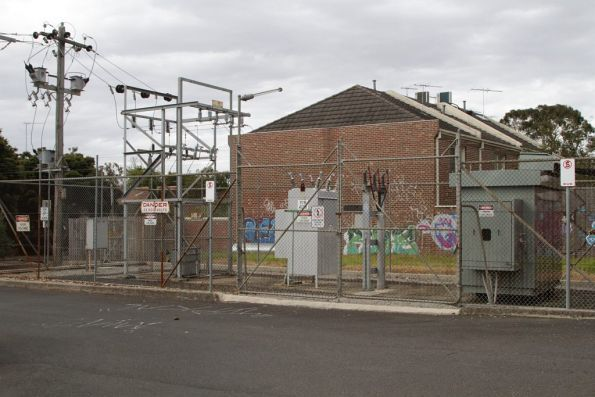 Middle Brighton substation, modernised transformer and switchgear