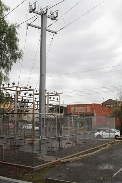 Alphington substation, high voltage supply from the railway system