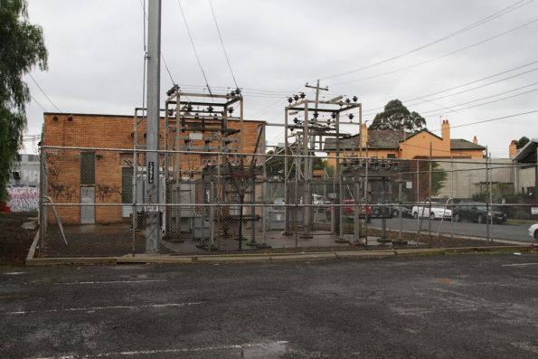 Alphington substation, switchyard and transformers