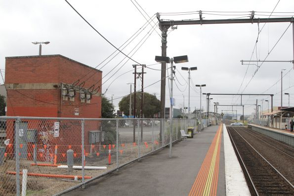 Hallam tie station, opened with electrification of the Gippsland line