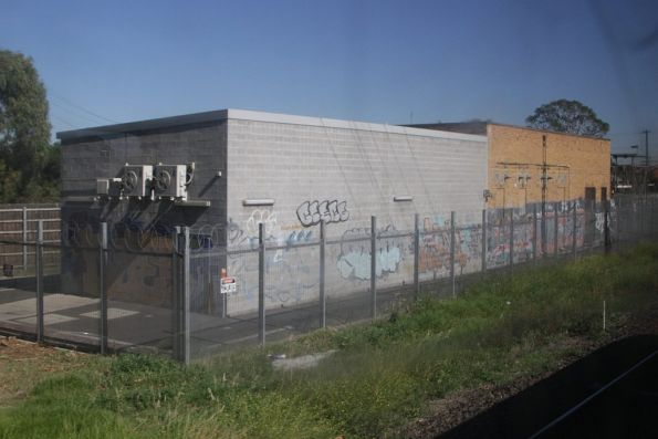 Westall substation, enlarged in 2010 as part of the Westall station upgrade