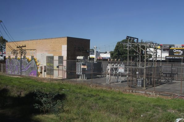 Noble Park substation, commissioned in 1954