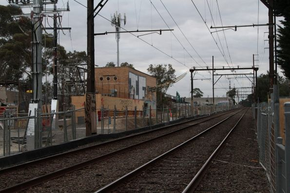 Blackburn substation, located halfway to Nunawading station