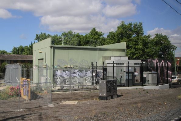 Melbourne railway traction substations