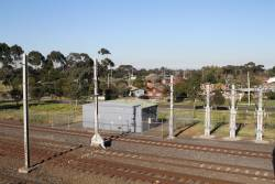 Tie station at Laverton