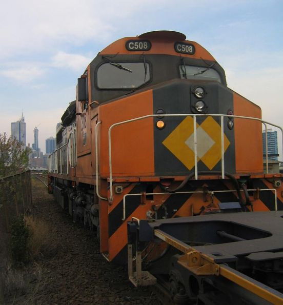 C508 shunting at North Melbourne