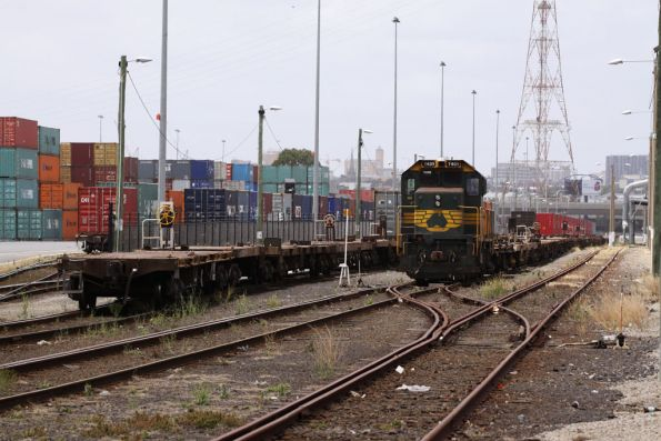 More stabled wagons in the Patrick Sidings at Appleton Dock