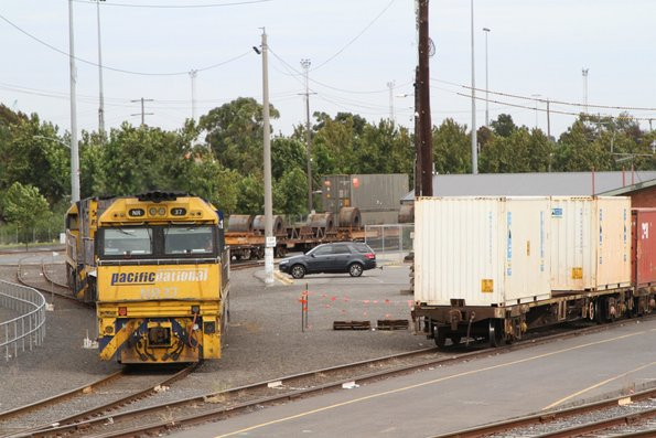 NR37, NR114 and NR8 shunt coil steel loading on SM2 at North Dynon