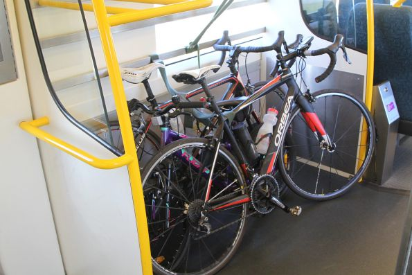 And three more bikes makes a total of six bikes headed to Geelong