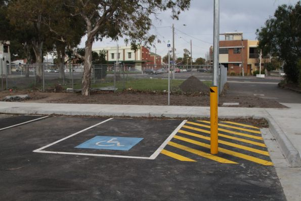 Infrastructure overkill for a disabled parking space?