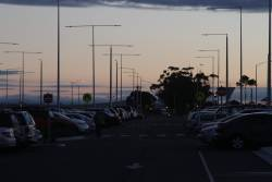 Early morning at the Wyndham Vale station car park