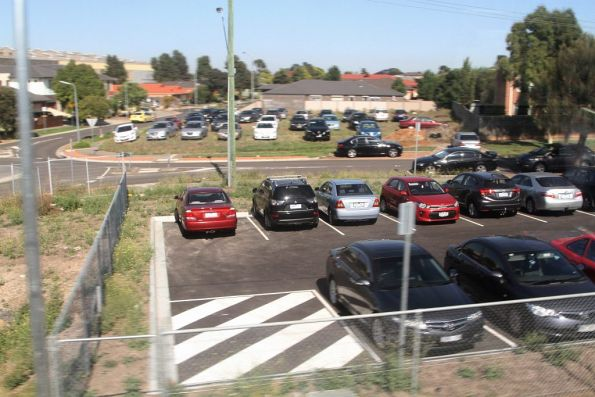 New car park at Keilor Plains station is already overflowing with cars