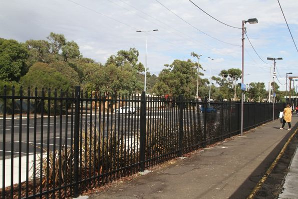Upgraded car park on the north-east side of Ferntree Gully station