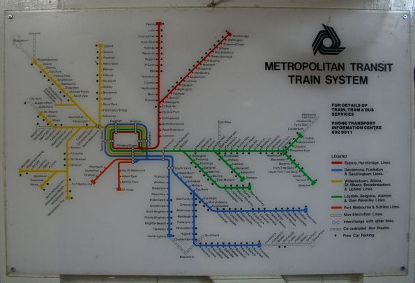 'Metropolitan Transit' network map