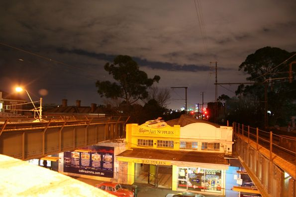 Night time at Glenferrie
