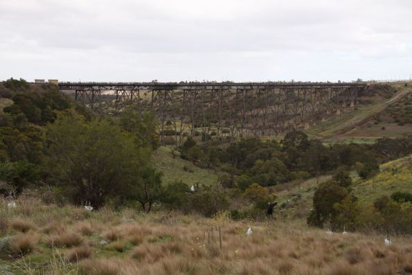 Maribyrnong River Viaduct from the west