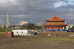 Heavenly Queen Temple beside the Maribyrnong River at Footscray