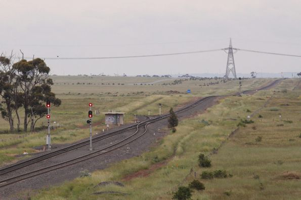 Deer Park West junction looking towards Ballarat