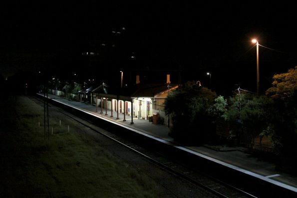 Overview of Williamstown station
