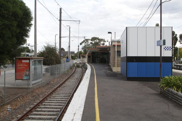 Dead end platform 3 at St Albans station