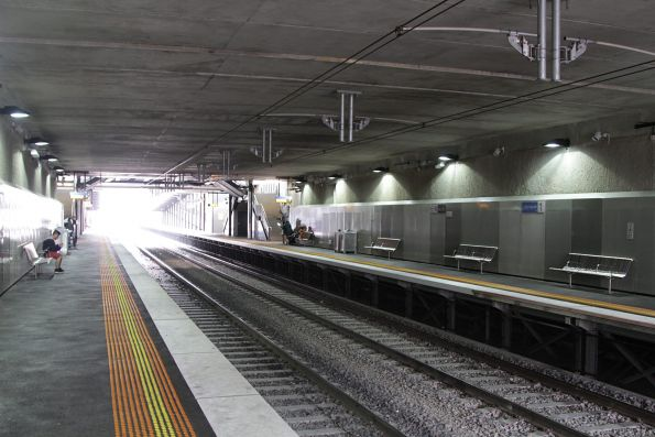 Down beneath Springvale Road at Springvale station