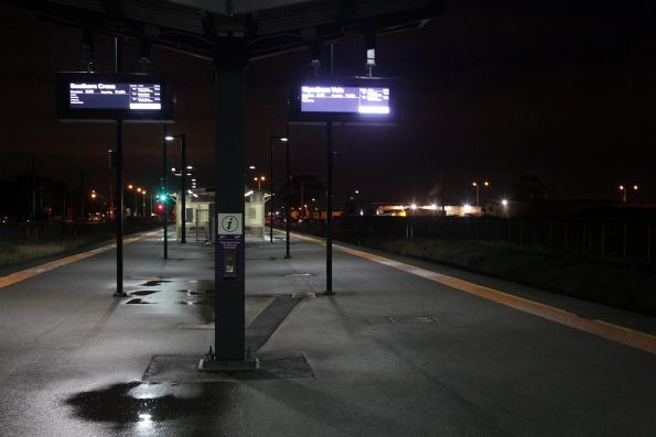 Early morning at Deer Park station
