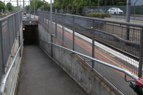 Access subway at Mont Albert platform 2 and 3