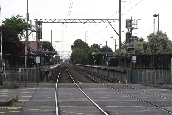 Down end of Bell station - Wongm's Rail Gallery