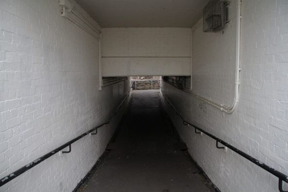 Pedestrian subway at Rushall station