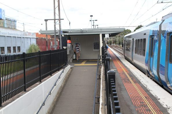 Ramp to Burnley platforms 3 and 4