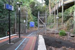 Puffing Billy entrance to Belgrave station