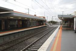 Station buildings at Carrum