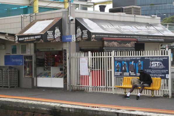 Kiosk at Dandenong station