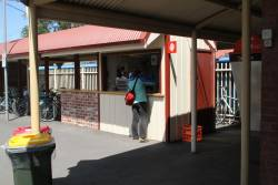 Coffee stall at Clifton Hill platform 1